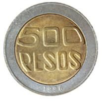 500 pesos colombianos