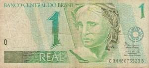 Billete Brasil 1 real