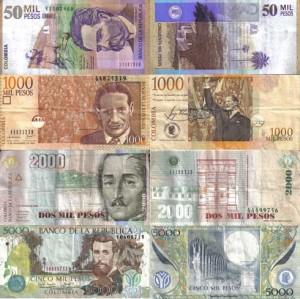 Peso colombiano Billetes