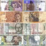 tasa peso colombiano