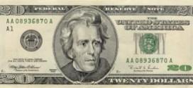 Billete de 20 Dólares