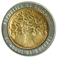 moneda 500 pesos colombianos